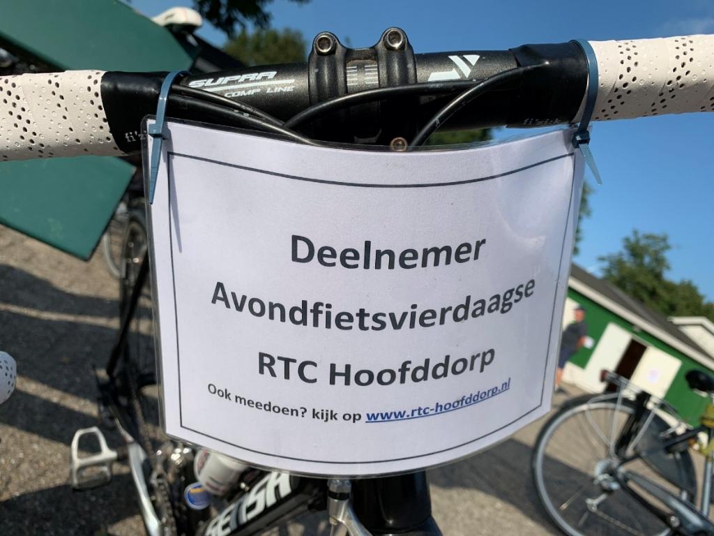 Deelnemers fietsbordje Cora Verkaart © BDU media