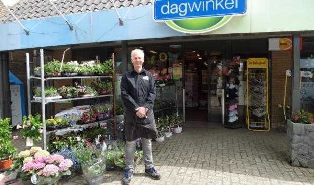 Anno van den Berg voor Anno's Dagwinkel