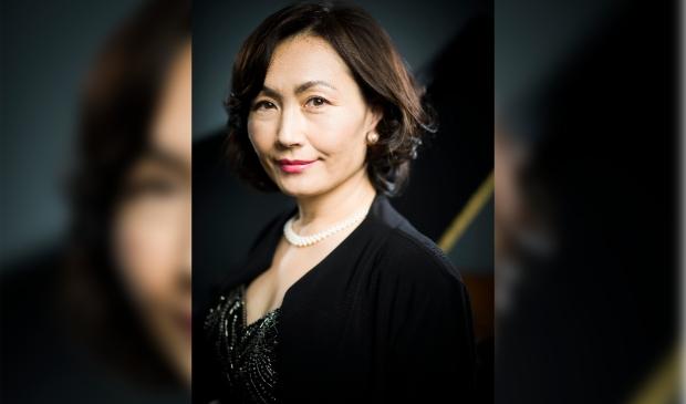 Mitsuko Saruwatari, pianiste en artistiek leider Uriël Ensemble.