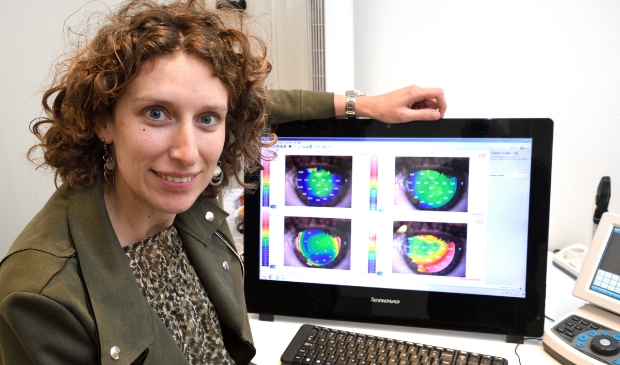 <p>Contactlensspecialist Marieke van Maanen. ,,Als je twijfelt over je ogen, kom dan langs voor een controle.''&nbsp;</p>