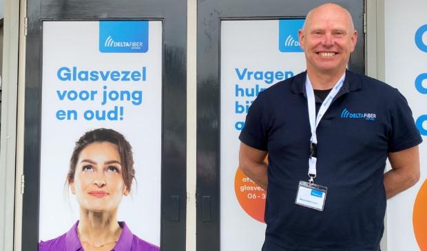 <p>Johan Scheepstra bemant het Glasvezel Informatiepunt, Rijksstraatweg 177 in Leersum.</p>