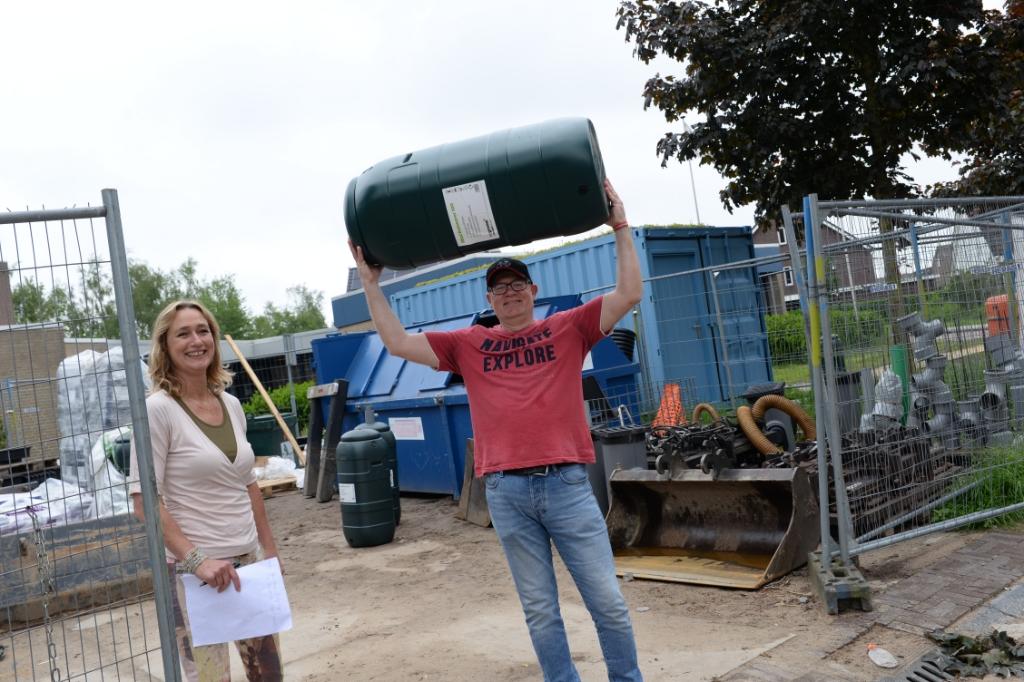 regenton; nijkerkerveen; duurzaam; regenwater Harry Koelewijn © BDU Media