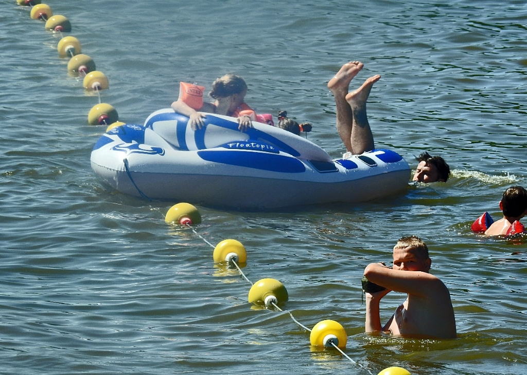 zwemmen,merwede,zomer GP-buro © BDU Media