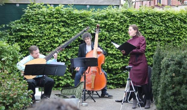 Tuinconcert Trio Picolit