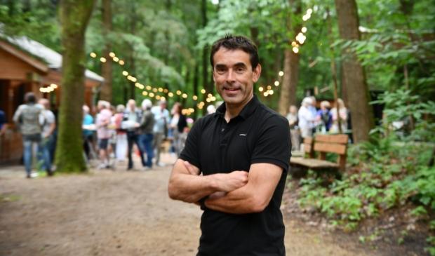 <p>Emil Los, voorzitter van Stichting Openluchttheater Cabrio: ,,We ontwikkelen door, zijn nooit klaar. Maar we respecteren het bos altijd.&quot;</p>