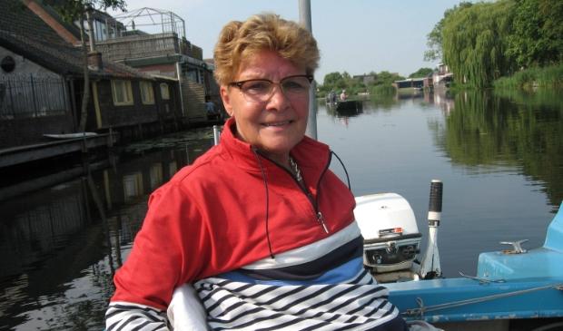 Jannie van Dijk winnaar bij de boten