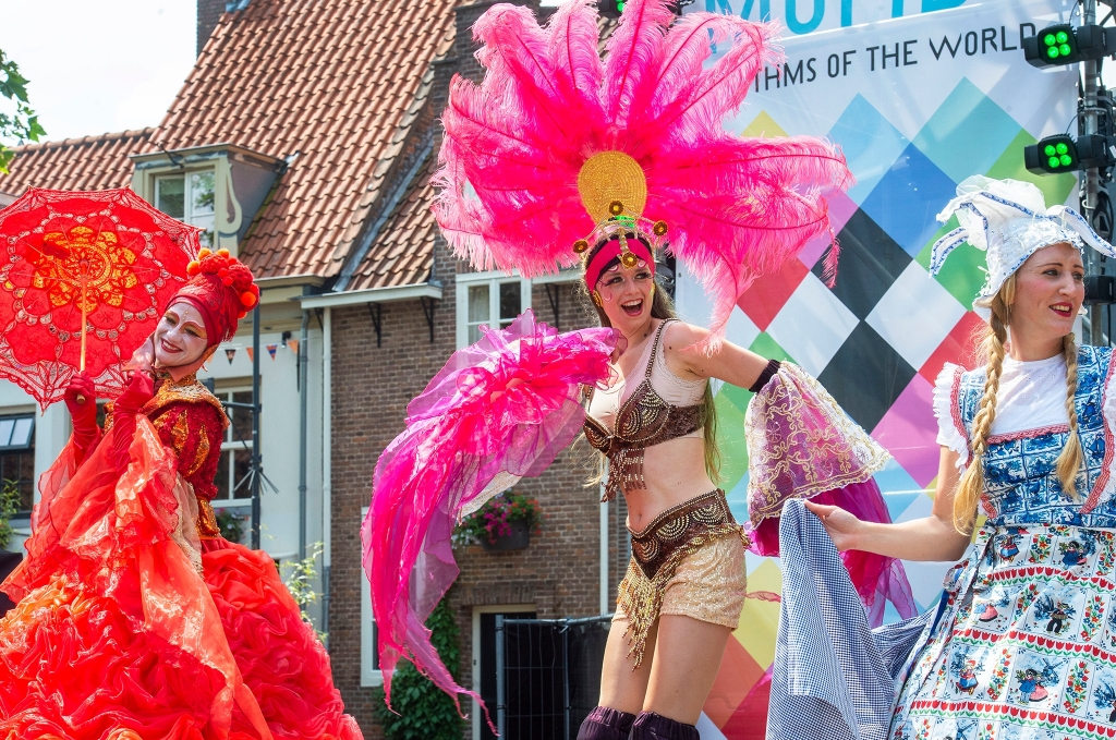 Musica Mundo met de officiele opening op de zaterdag Rinus van Denderen © BDU media