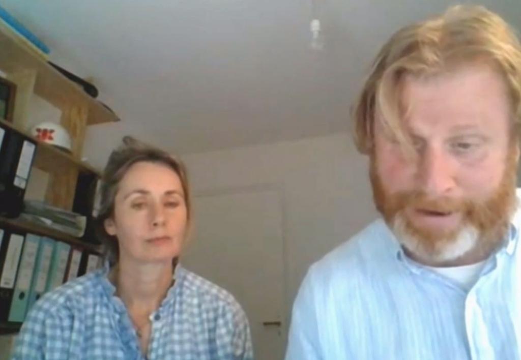 Initiatiefnemers Fred en Karlijn Klerk tijdens de parallelsessie van donderdag 17 juni Gemeente Gorinchem © BDU Media