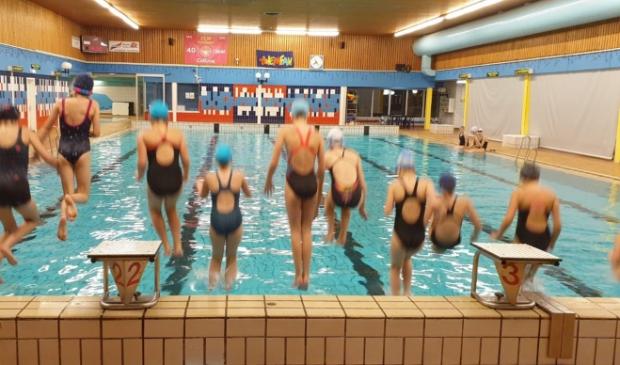 training synchroonzwemmen