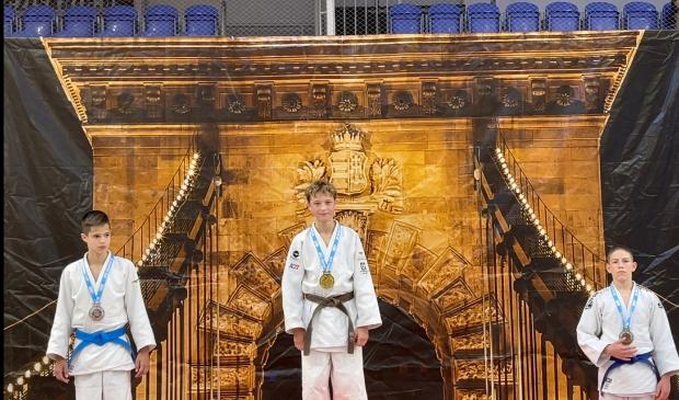 Goud voor judoka Inno Loeber bij de Budapest Cup 2021