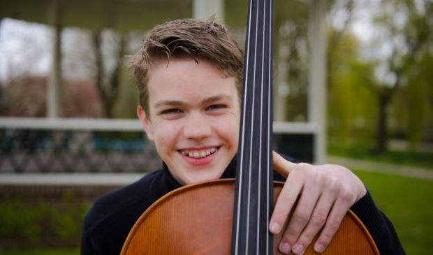 Matthijs van der Kolk is één van de Talentklas leerlingen die optreden tijdens Barneveld Proms