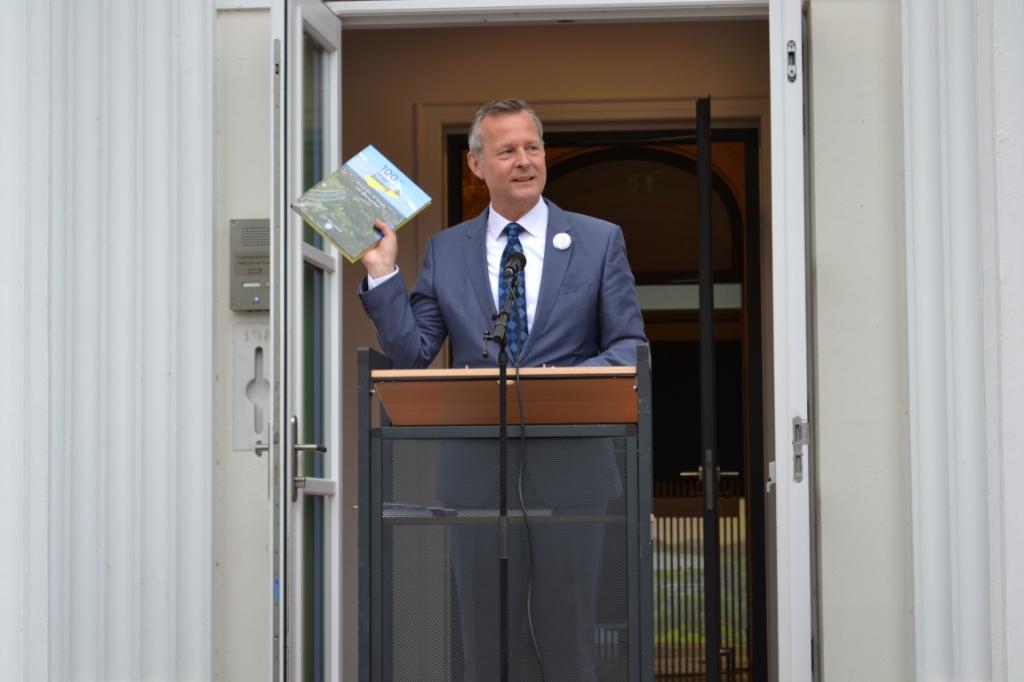 Arthur van Dijk (commissaris van de Koning). Mariëlle Tukker © BDU Media