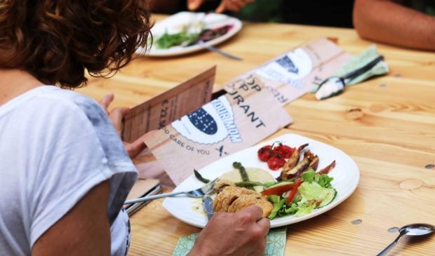 Eetcafe's en FoodFloor 'Ede verleiden tot plantaardig eten'