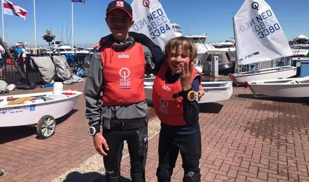 <p>Thijs Bijleveld en Son Weir.<br><br></p>