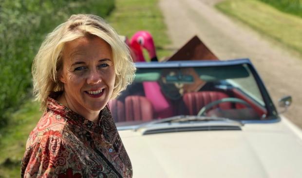 <p>Miriam is klaar om als zelfstandig en persoonlijk reisadviseur aan de slag te gaan</p>
