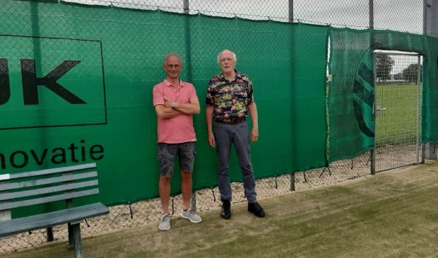 links Joop Middelweerd en rechts Paul Robben