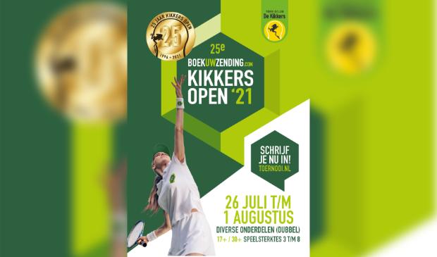 Poster 25ste Kikkers Open