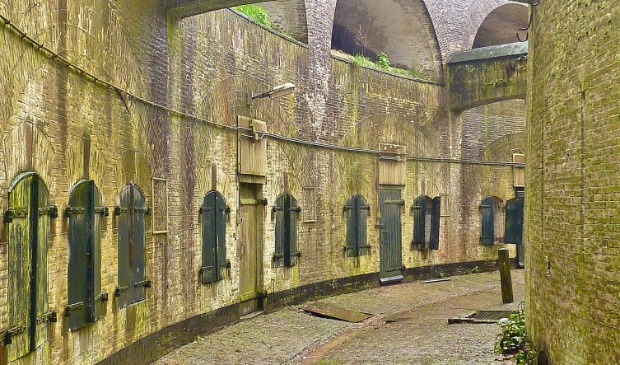 Fort Everdingen: contrescarpgalerij