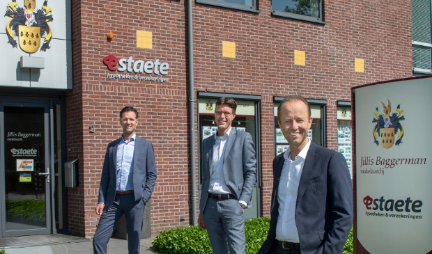 <p>Gecertificeerde taxateurs Jillis Baggerman, Sander Hemmes en Thijs Richters.</p>
