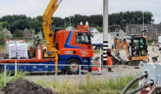 <p>De VRI-mast wordt geplaatst op de kruising Oranjebaan - Amstelslag.</p>