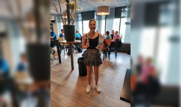 Clubkampioen dames Tessa Speksnijder