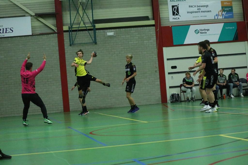 Handbal Houten speelt tegen Aalsmeer Hanna Koops © BDU media