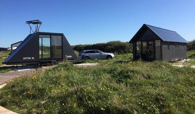 <p>Een voorbeeld van enkele Tiny Houses, in IJmuiden.</p>