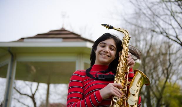 De saxofoon is één van de vele instrumenten waaruit je op de Proeflesdag kunt kiezen.