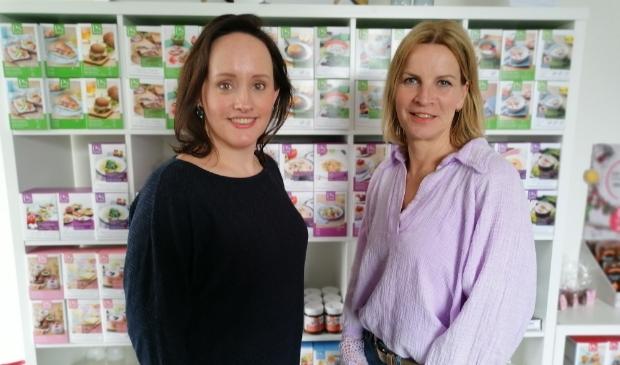 <p>Carlijn de Groot (l) en Miriam de Best (r).</p>