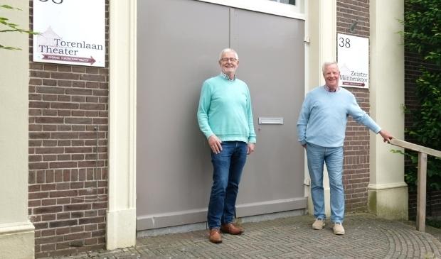 """<p>Henk ter Voorde en Koos van Gemeren: """"Zingen is genieten.""""</p>"""