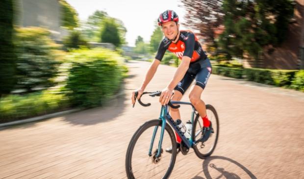 <p>Martin van de Pol gaat vol voor plaatsing voor de Paralympische Spelen.</p>