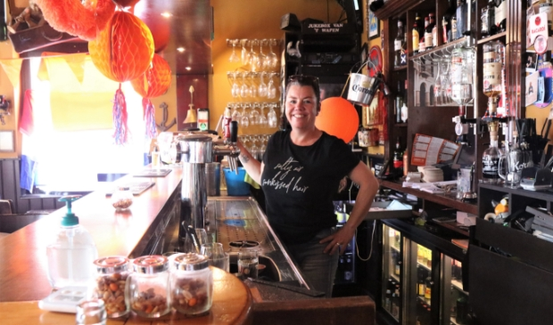 <p>Brigitte van Eig ziet de toekomst van haar caf&eacute; zonnig tegemoet.</p>