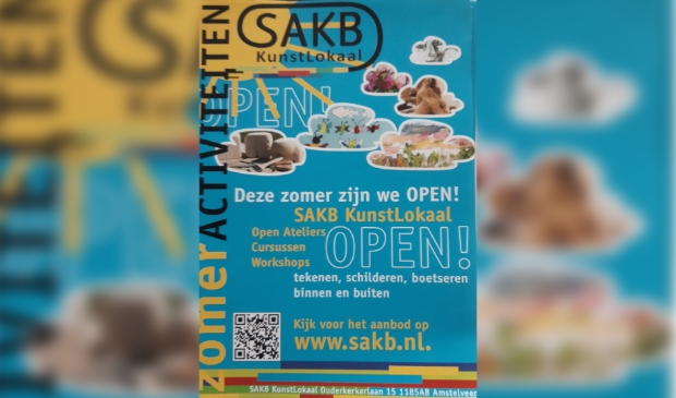 poster zomerprogramma SAKB
