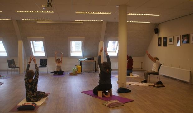 yogales aan mensen met de ziekte van Parkinson