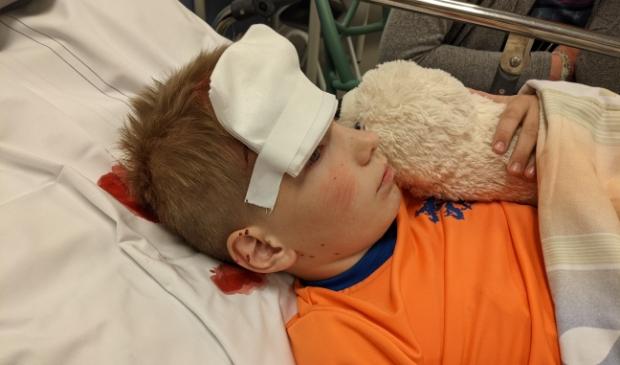 Slachtoffer na aankomst in ziekenhuis