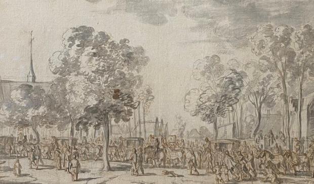 <p>Jan Martszen de Jonge &ndash; Koninklijk bezoek voor Adriaan Pauw in Heemstede.</p>