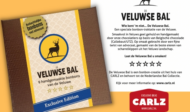 De Veluwse Bal, de nieuwe bonbon van de Veluwe.