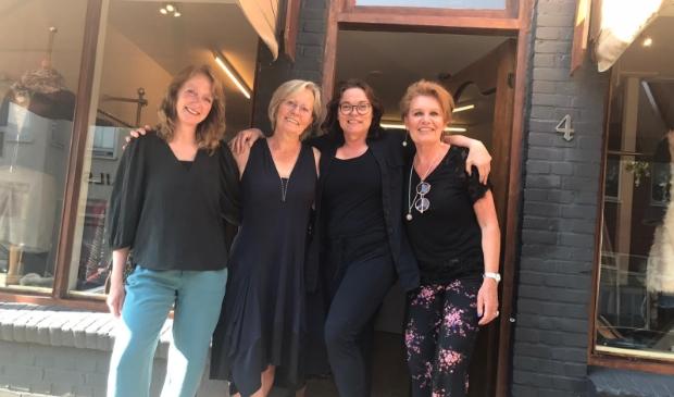 <p>Van links naar rechts: Magda, Tiny, Caroline en Milly.</p>