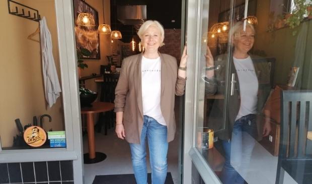 <p>Marijke Snoek: ,,Ik ben ook wel echt van de klanten.&quot; </p>
