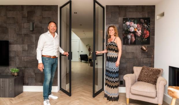 <p>Arnold en Janine: ,,De deuren maken het interieur helemaal af.&rdquo;<br><br></p>