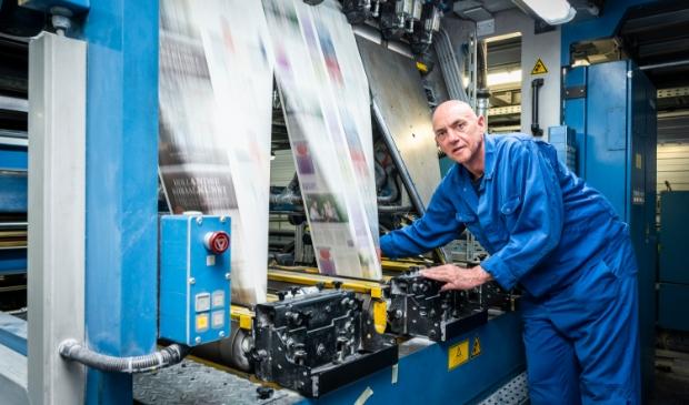 <p>Wekelijks rollen er zo&#39;n 2,5 miljoen kranten van de pers in Barneveld.</p>