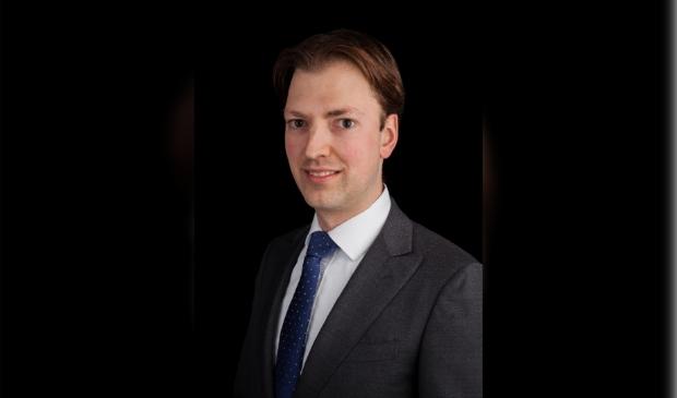 <p>PvdA-raadslid Arnout van den Bosch </p>