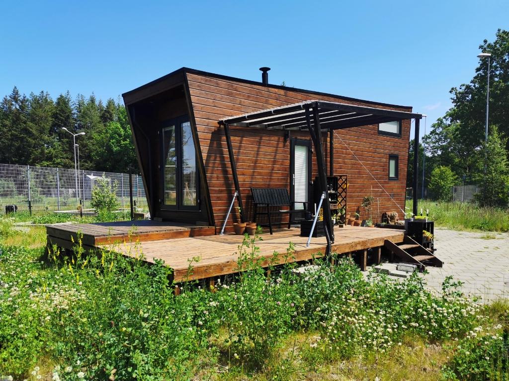 Tiny House te Kamp van Zeist Miriam Kornet © BDU