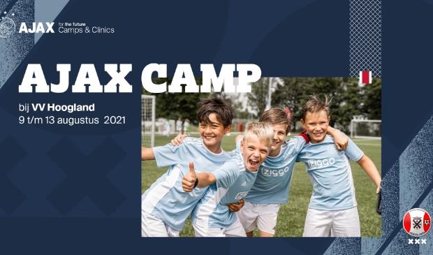 Promotiefoto Ajax Camps & Clinics bij VV Hoogland