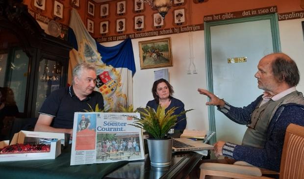 <p>De Soester Courant houdt elke woensdagmorgen spreekuur in Museum Soest.</p>