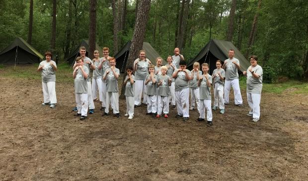 Deelnemers jeugdkamp 2021