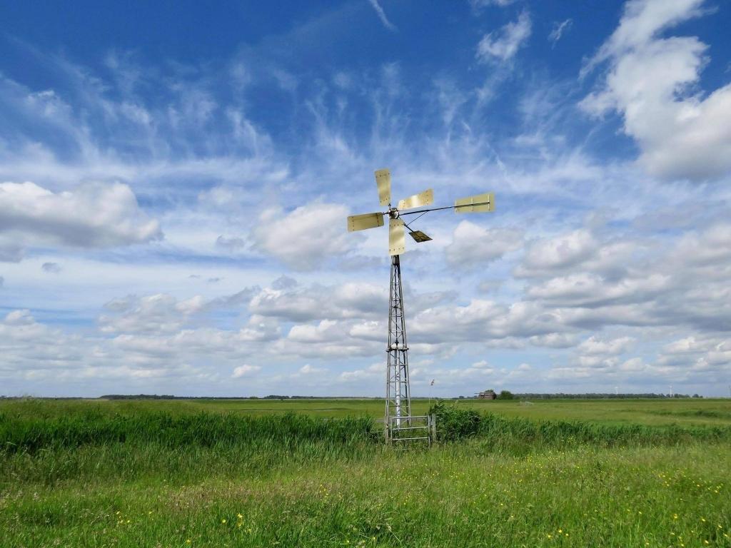 5 Fraaie Windmolen met op de achtergrond het Eemmeer Onno Wijchers © BDU media
