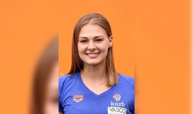 <p>Simone van de Kraats, tot voor kort speelster van Polar Bears, was weer belangrijk voor Oranje.</p>
