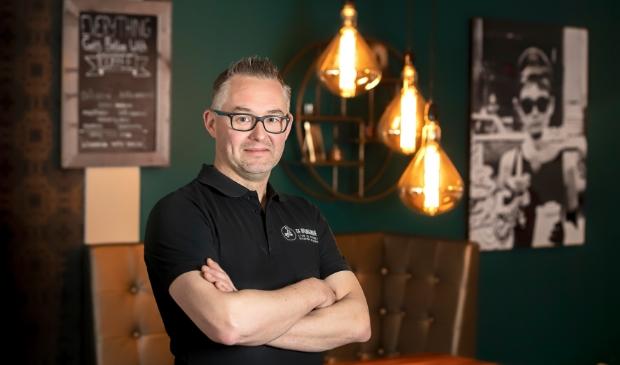 <p>Edwin Lodder in het restaurant aan de Stadspoort in Ede.</p>