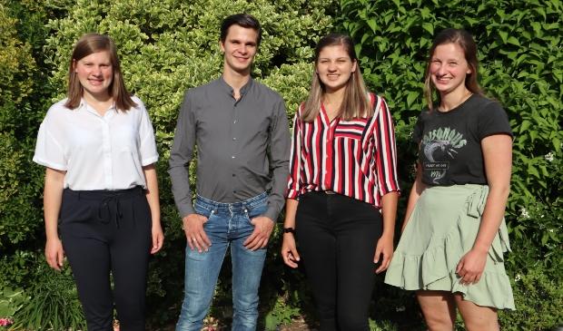 <p>De actiegroep Wij Willen Wonen Putten: (vlnr) Linda van Winkoop, Rick Beijnen, Tessa en Ingeborg Elbertsen.</p>